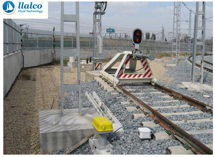 End Track Buffer stop - Madrid Metro
