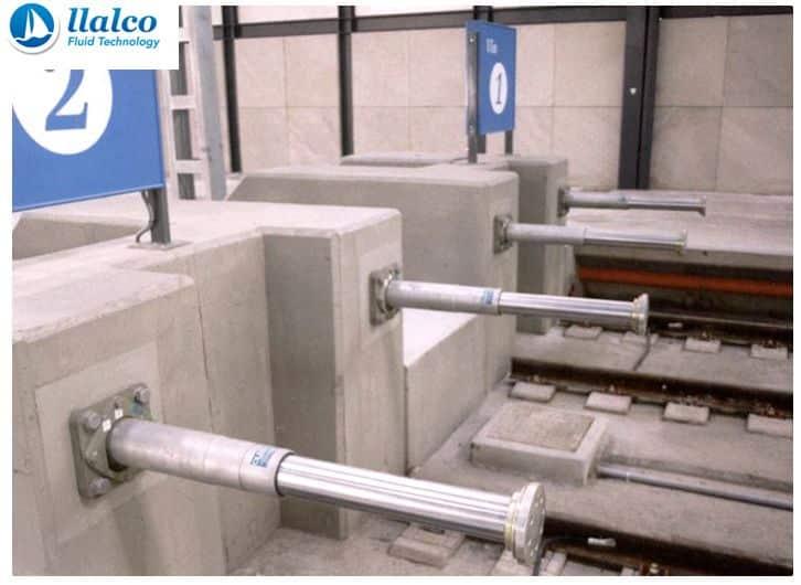 Gas Hydraulic Fixed Buffer Stops