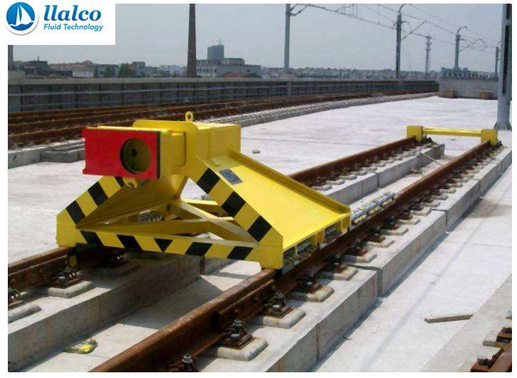 Sliding Buffer Stop - Guangzhou Metro - China