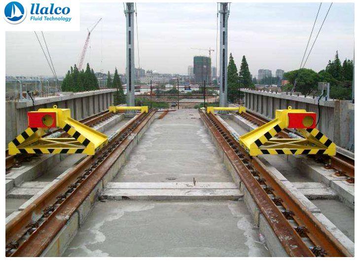 Sliding Buffer Stops - Guangzhou Metro - China